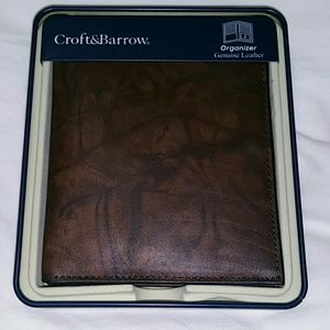 New in Box Leather wallet